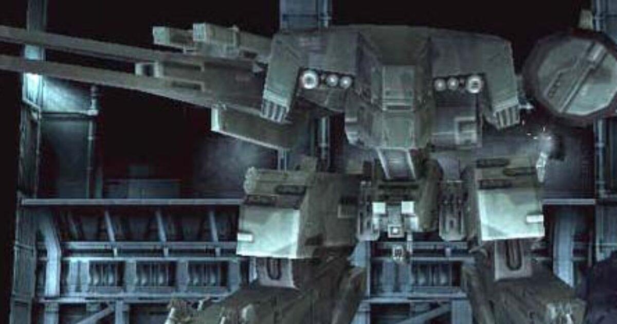 il metal gear solid, il corazzato dalla forma di robot che lanciava le armi atomiche - nerdface