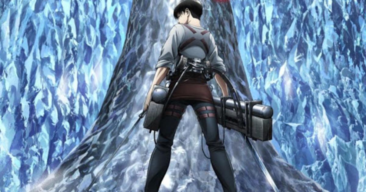il protagonista de l'attacco dei giganti è di spalle e armato - nerdface