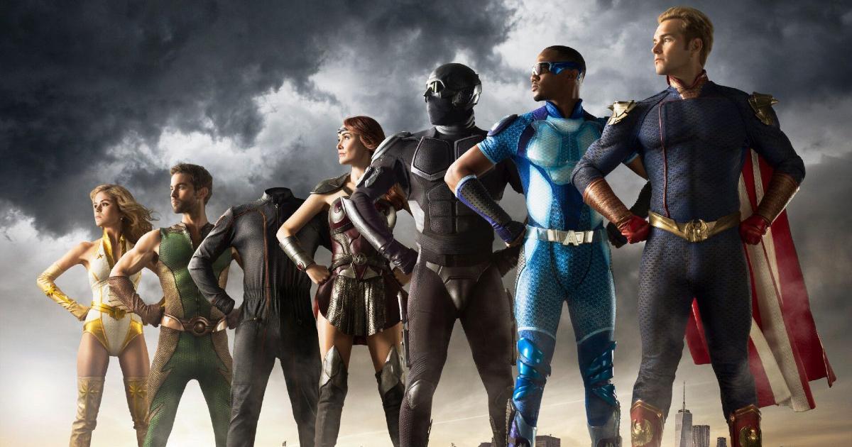 i sette sono in posa di profilo, guardando l'orizzonte - nerdface