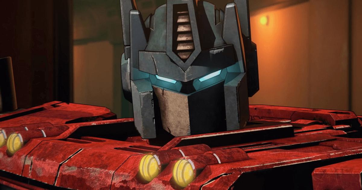 optimus prime, sì commander!, è in primo piano - nerdface