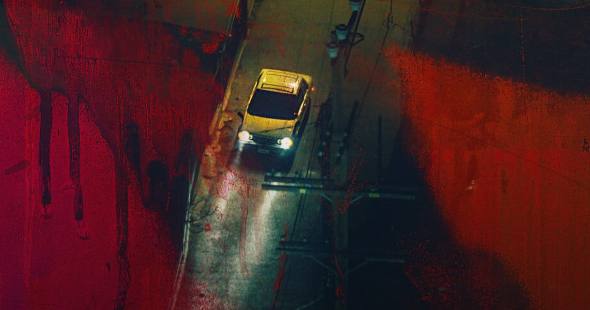 un'auto viaggia la notte - nerdface