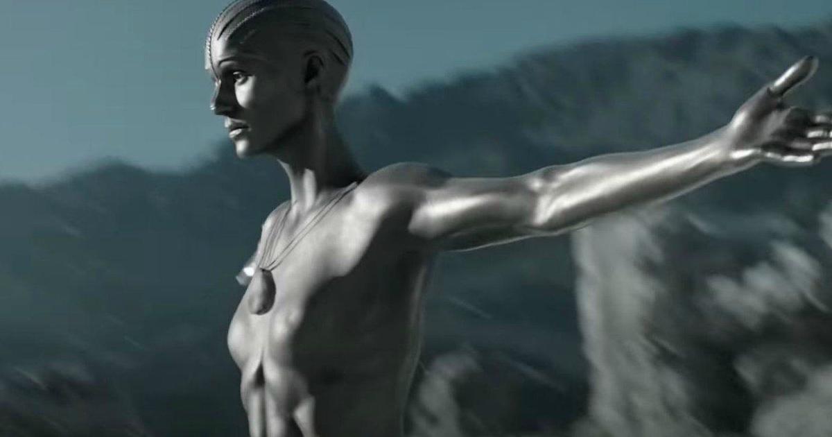 l'androide femmina è a braccia aperte - nerdface