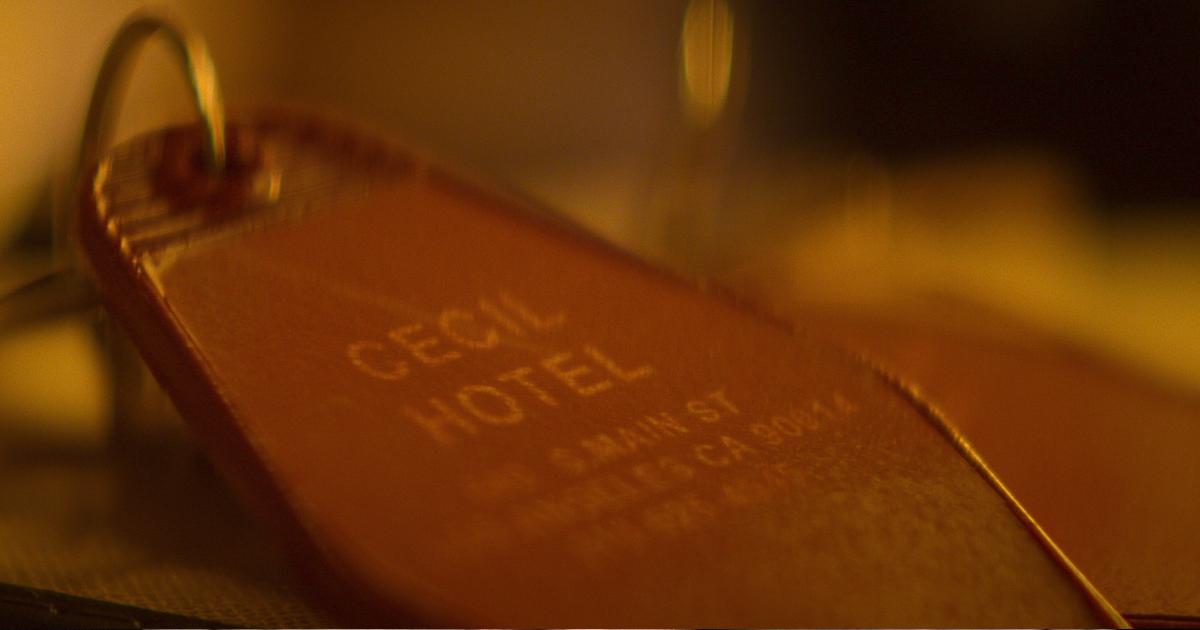 il dettaglio di una chiave del cecil hotel - nerdface