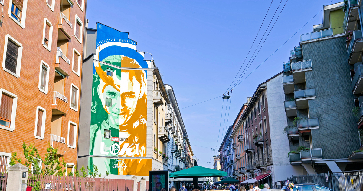 nerdface news loki murales milano