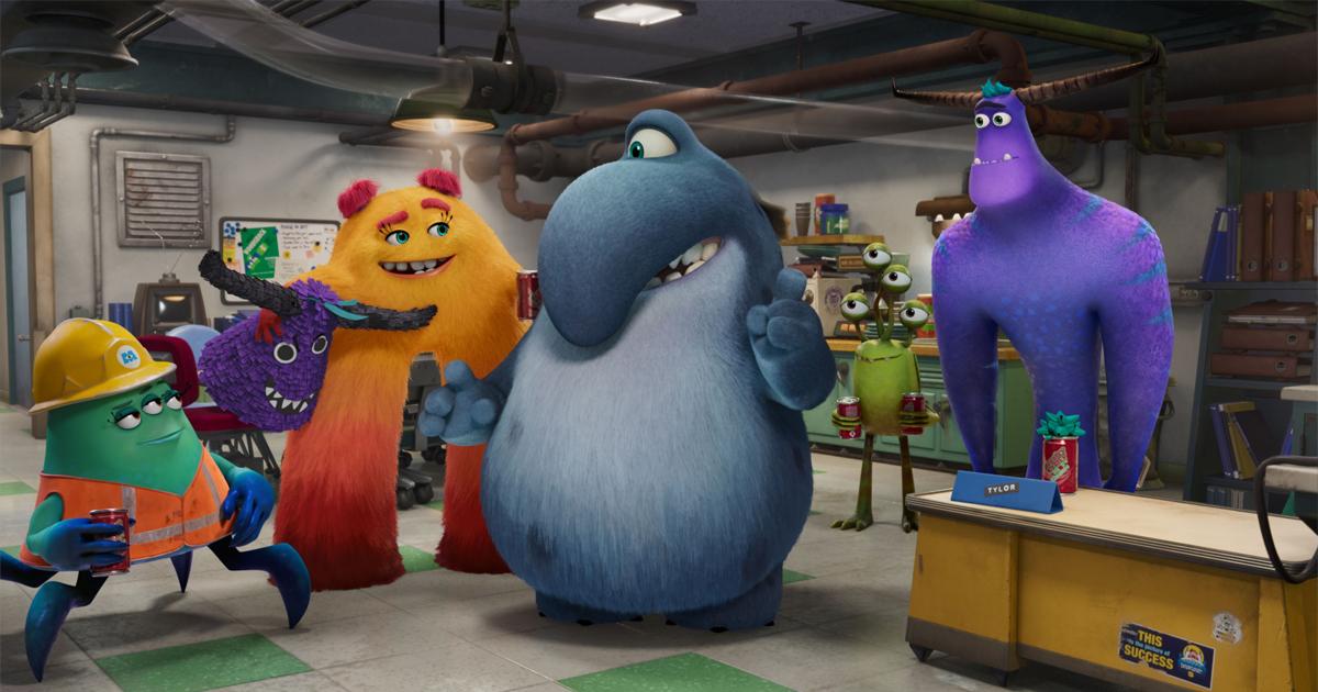 nerdface news trailer monsters & co la serie tv