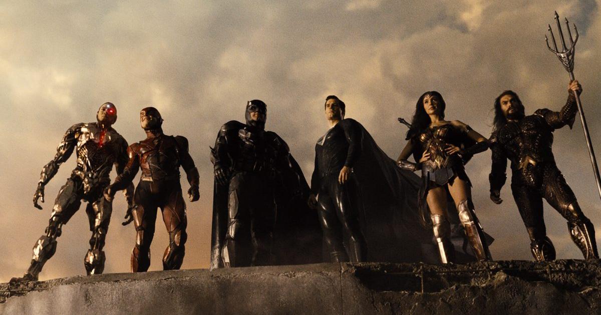 nerdface recensione zack Snyder's Justice League