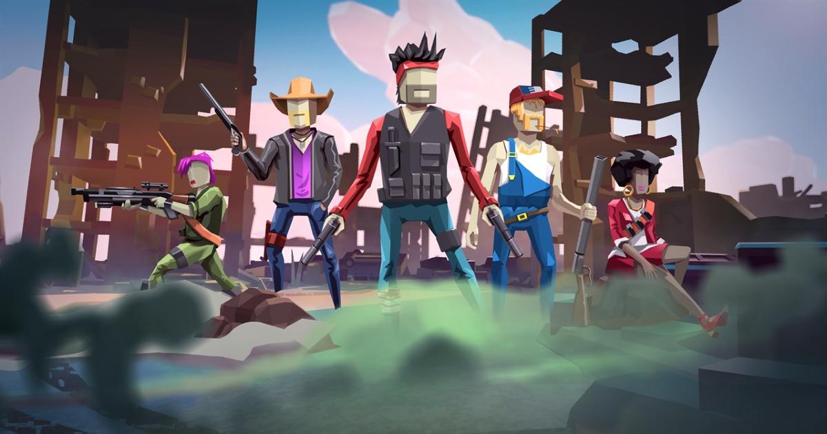 I combattenti del videogioco Dustoff Z - nerdface