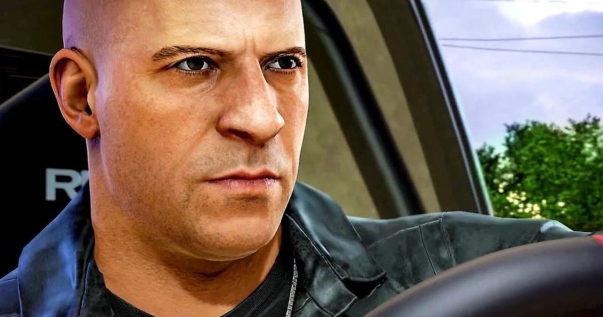 Dominic Toretto al volante - nerdface