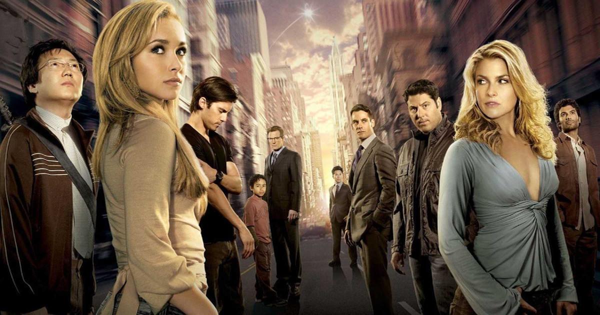Il cast di Heroes - nerdface