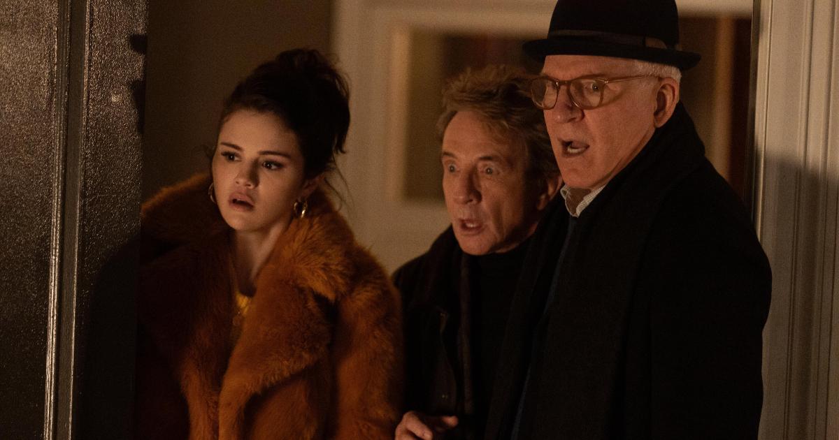 i tre protagonisti sono stupiti da qualcosa che hanno visto - nerdface