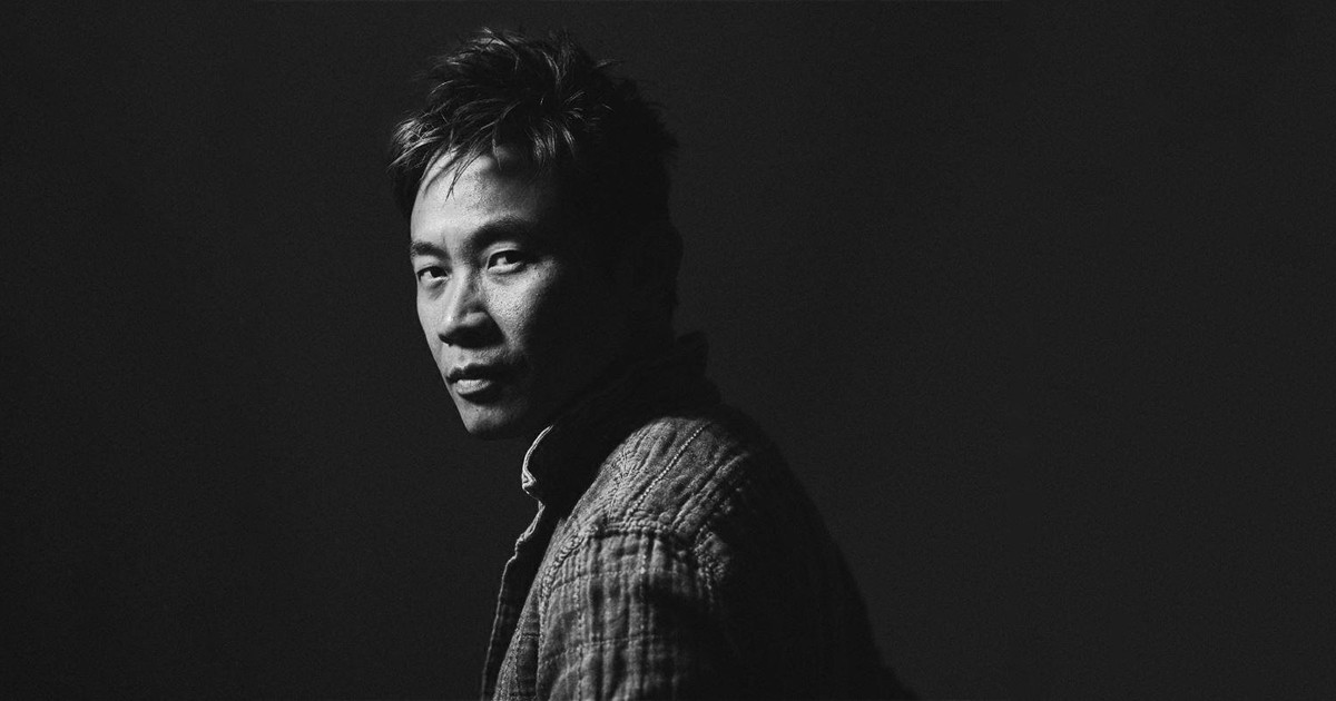 Primo piano di James Wan - nerdface