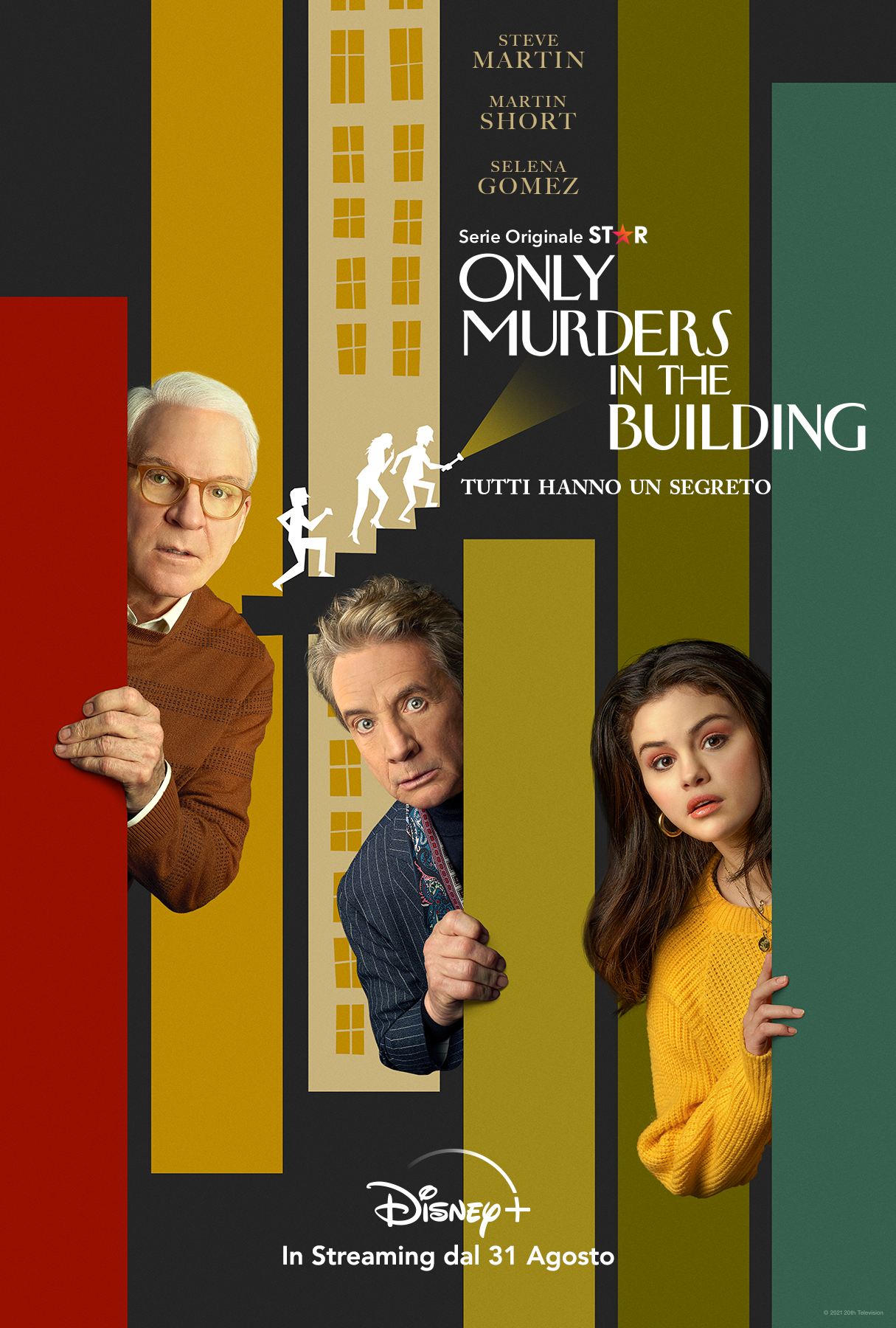 key art ufficiale di only murders in the building - nerdface