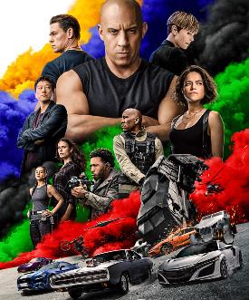 poster ufficiale di fast & furious 9 - nerdface