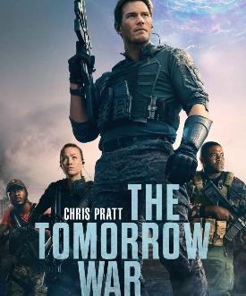 il poster ufficiale americano de la guerra di domani - nerdface