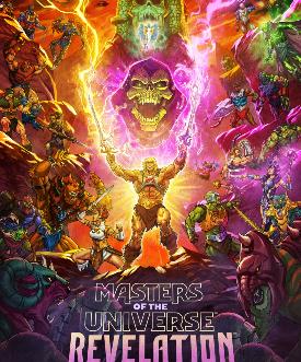 la locandina ufficiale di master of the universe revelation - nerdface