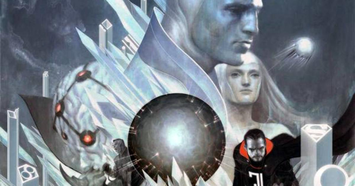Estratto dalla copertina di Gli Ultimi Giorni di Krypton - nerdface