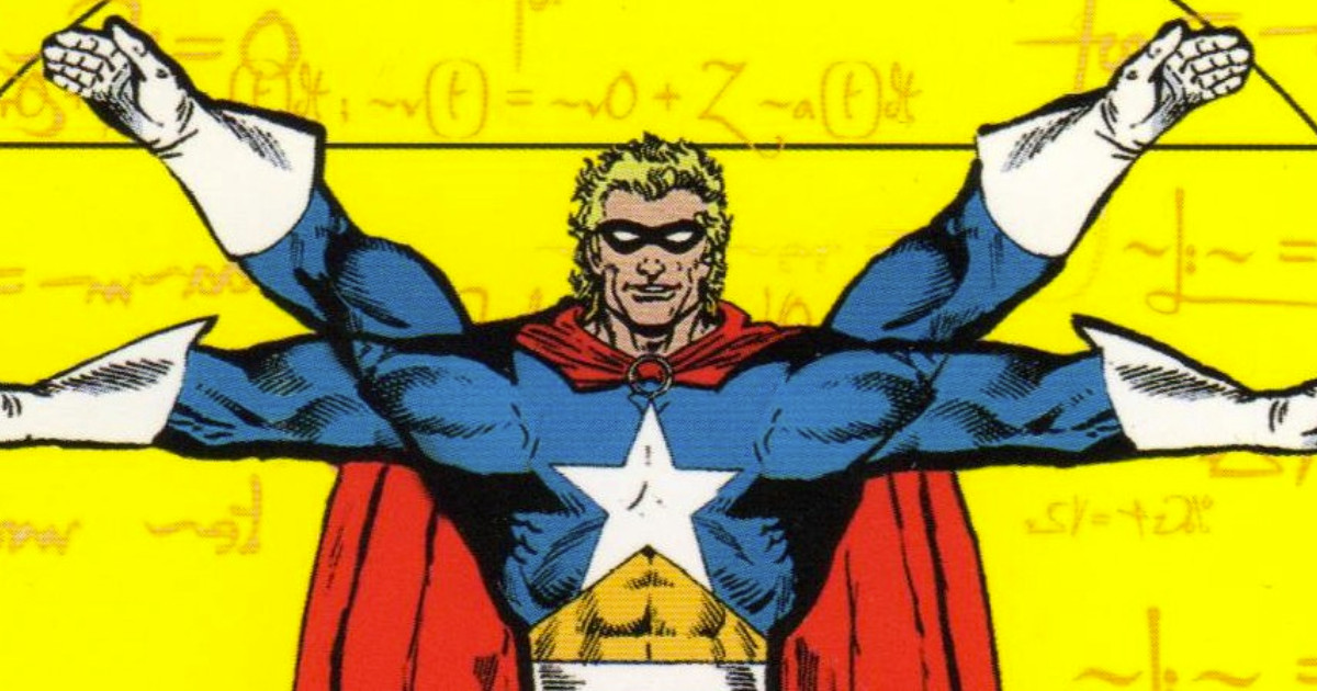 Estratto dalla copertina de La Fisica dei Supereroi - nerdface