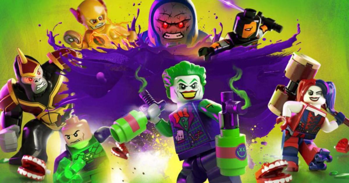 il gruppo dei super villains in Lego DC Super-villains - nerdface
