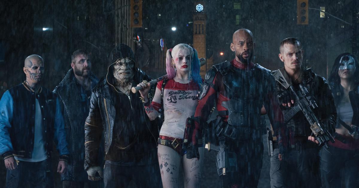 La Suicide Squad schierata - nerdface