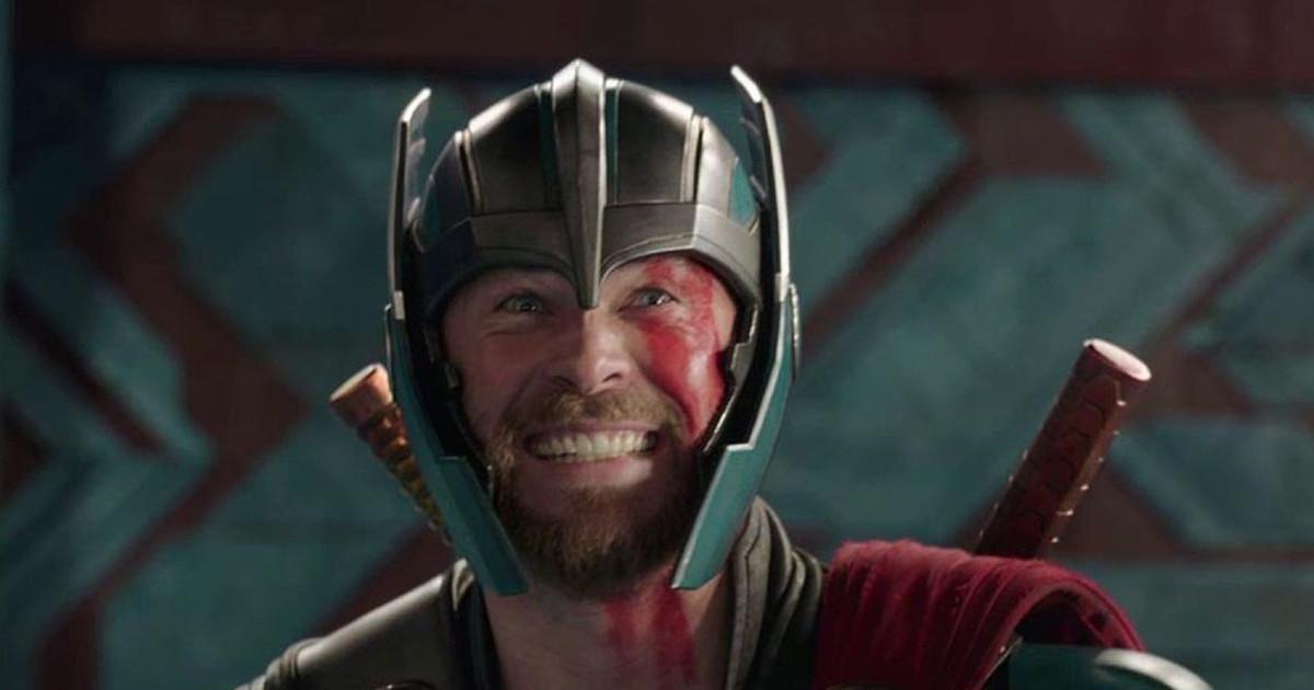 Primo piano di Thor in Thor: Ragnarok - nerdface