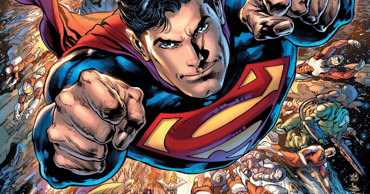 Superman in volo - nerdface