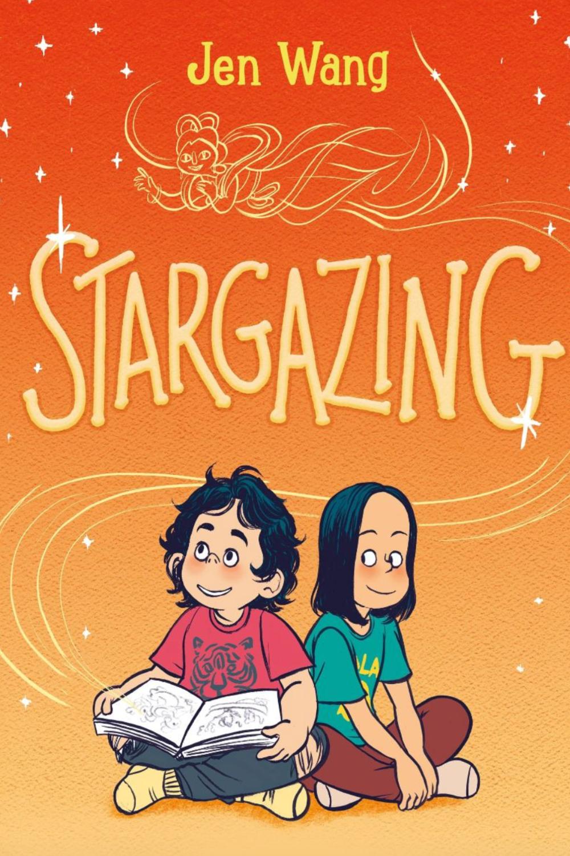 la copertina di stargazing mostra le due protagoniste sedute spalla a spalla - nerdface