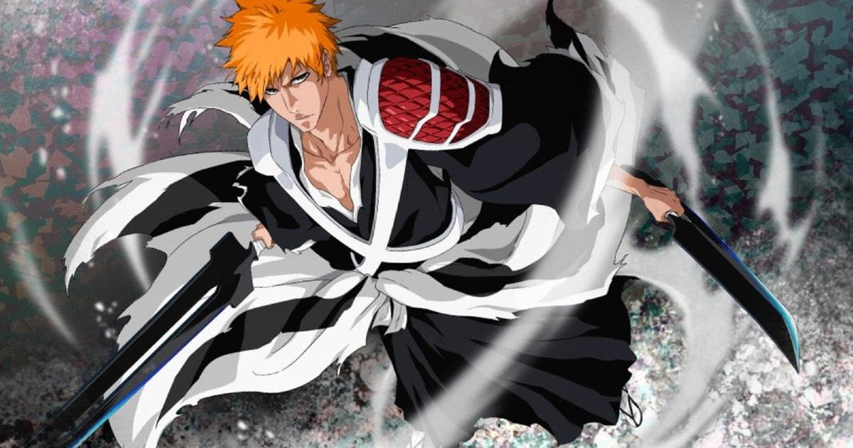 il rptoagonista di bleah è in kimono nero e bianco e impugna una katana - nerdface