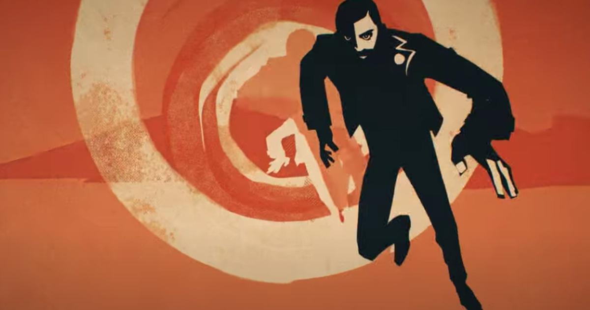 l'artwork mostra un uomo che corre davanti una spirale psichedelica - nerdface