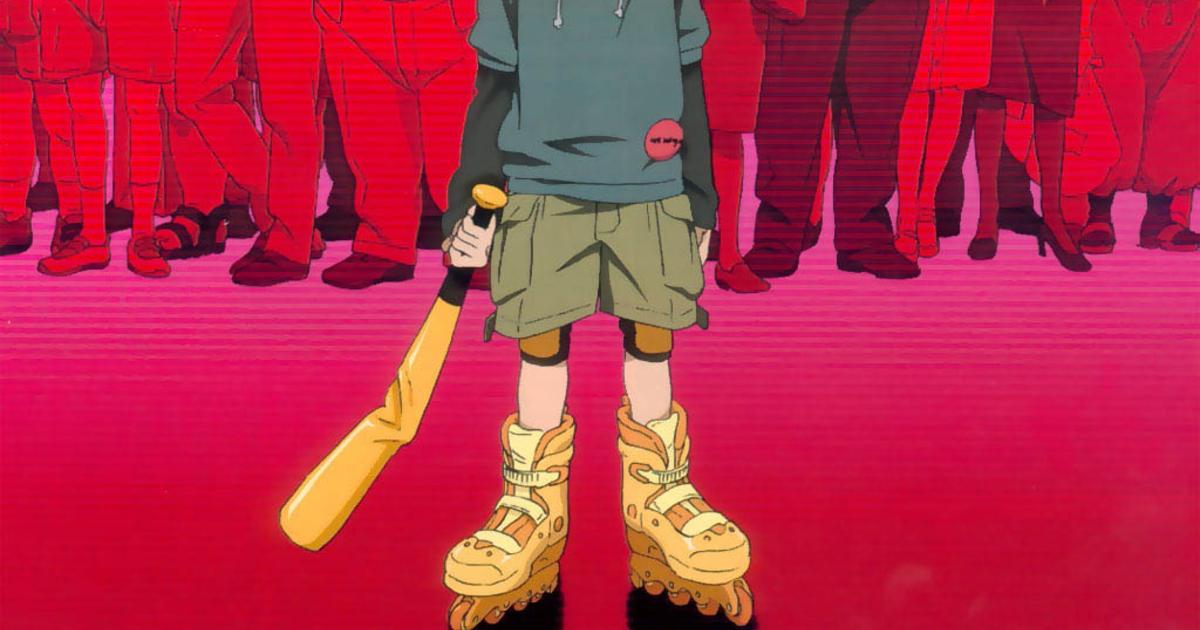 il dettaglio dei pattini del ragazzo che uccide ele persone con la sua mazza da baseball - nerdface