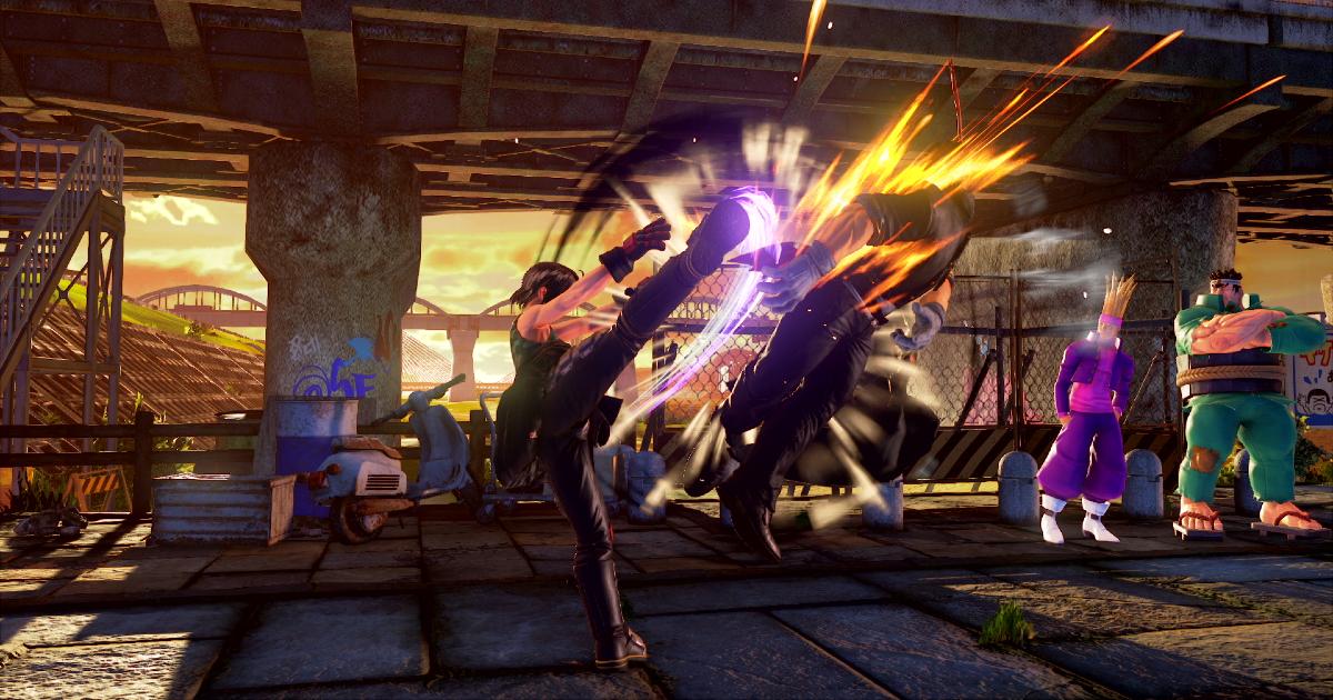 akira dà un calcione al suo avversario e lo fa volare - nerdface