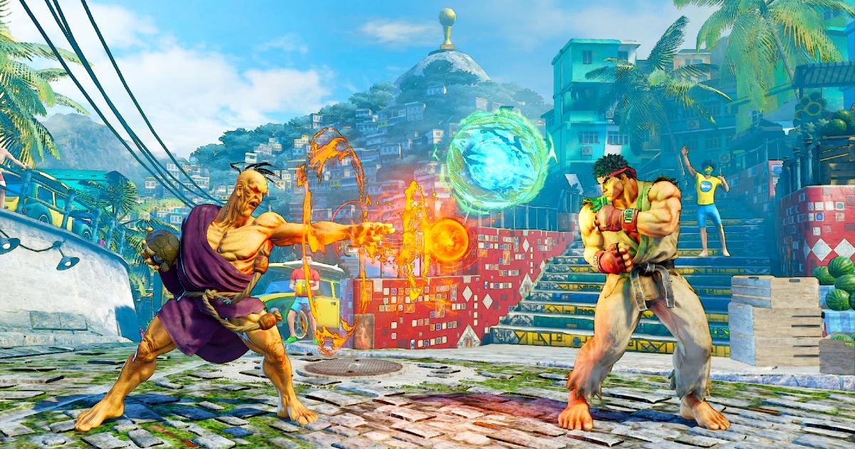 oro scaglia una sfera di energia contro ryu - nerdface