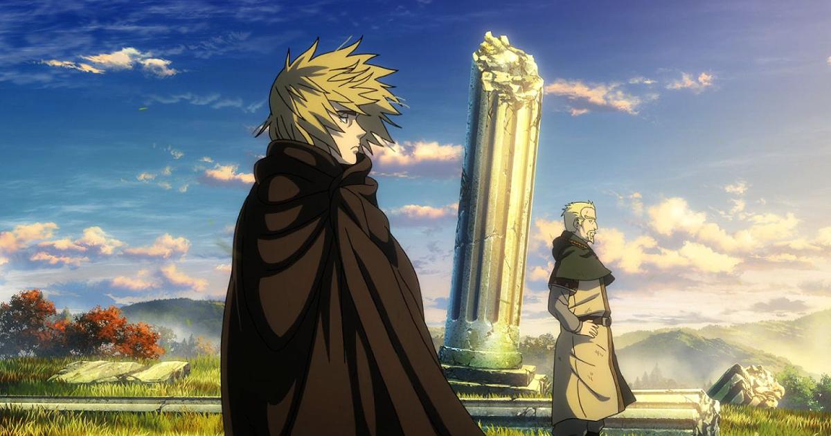 il protagonista e un altro uomo guardano l'orizzonte - nerdface