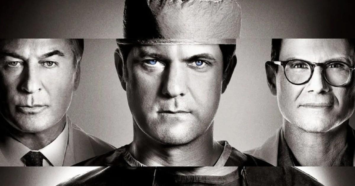 poster ufficiale della serie tv dr. death - nerdface