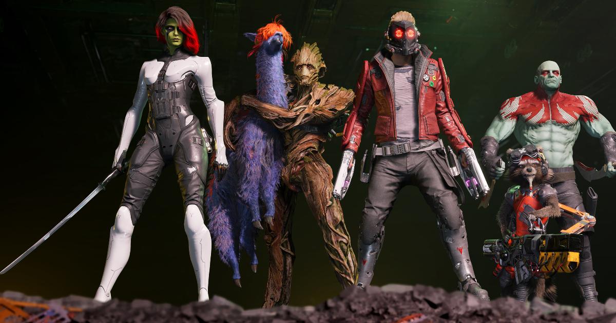 i guardiani sono in piedi sul bordo di un burrone - nerdface