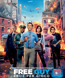 poster ufficiale di free guy - nerdface