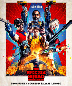 il poster ufficiale di the suicide squad - nerdface