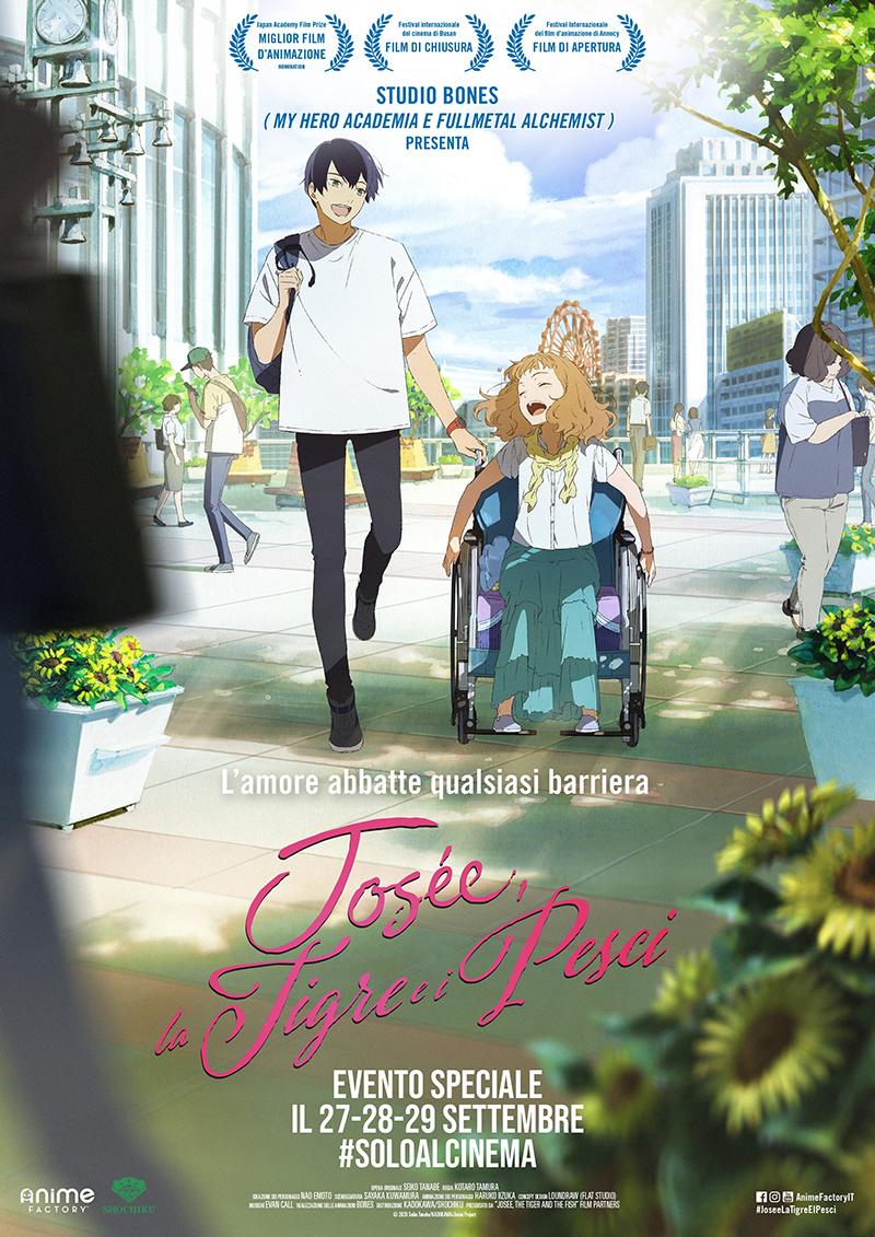 poster ufficiale della 3 giorni al cinema dell'anime - nerdface