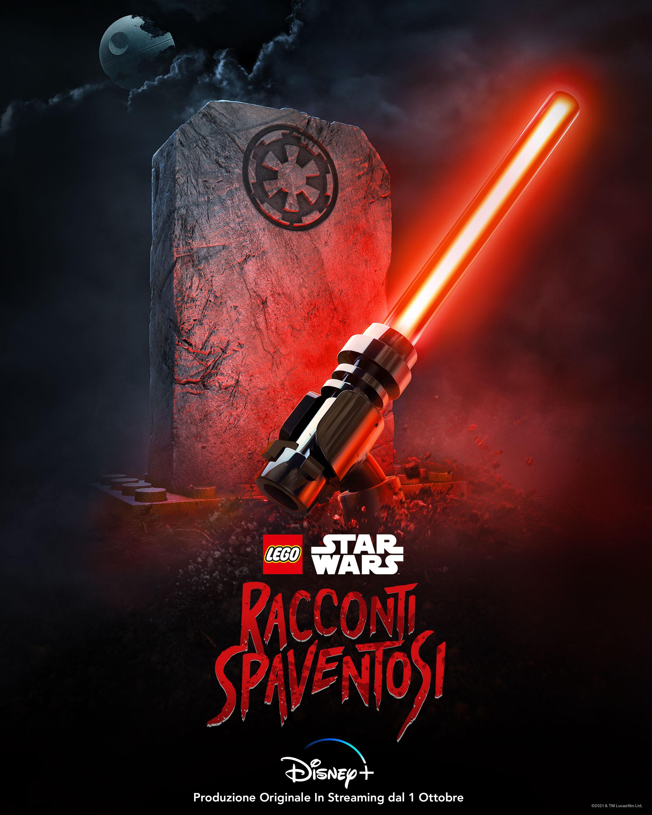 la key art ufficiale di lego star wars racconti spaventosi - nerdface