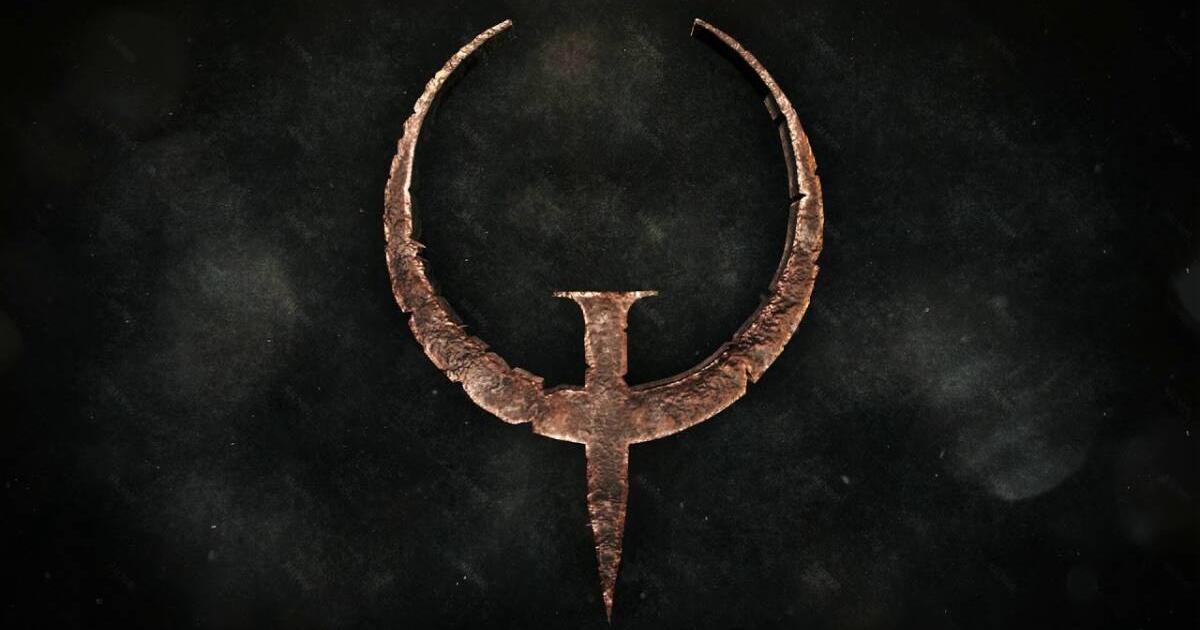 il logo del celebre gioco quake - nerdface