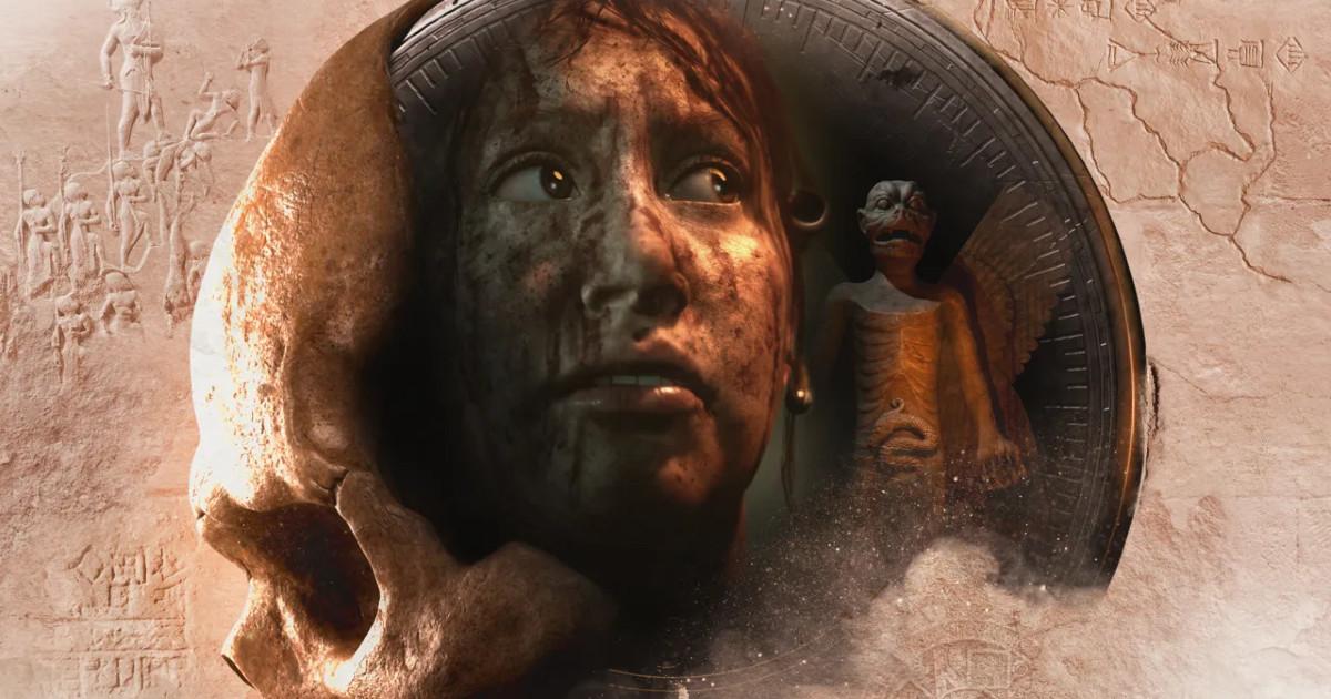 Un teschio con riflesso sopra una donna con il volto insanguinato - nerdface