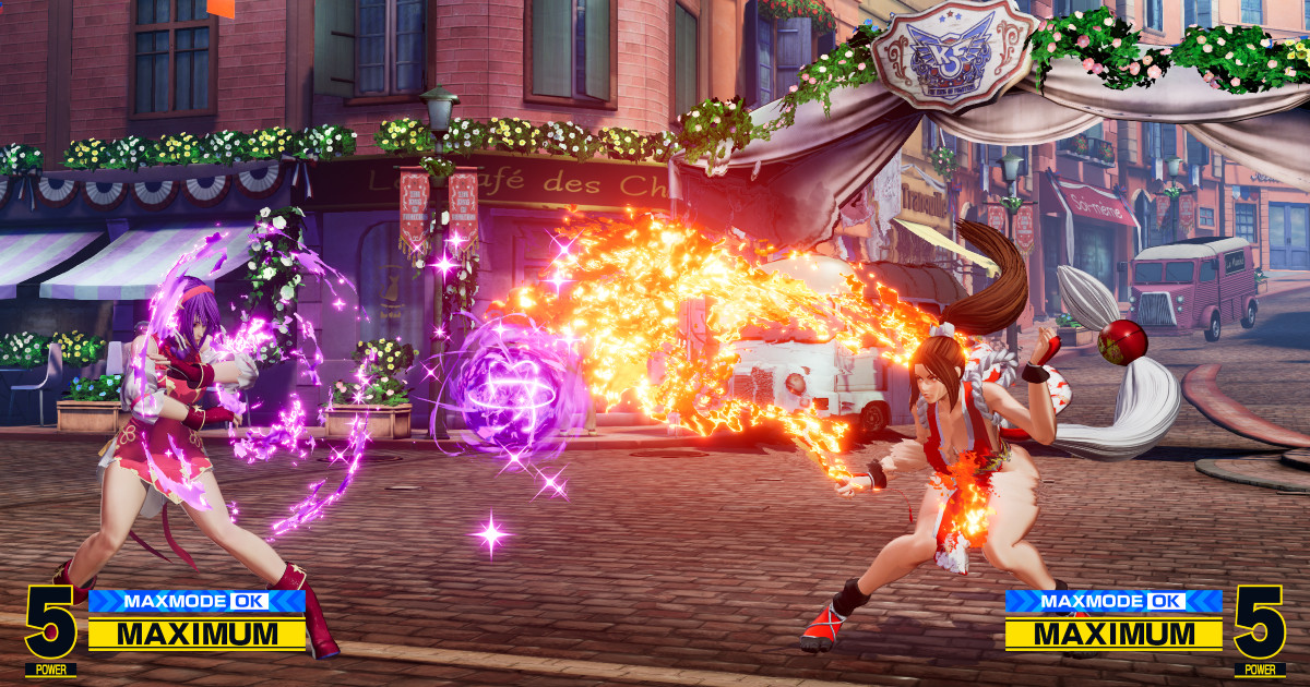 Due ragazze protagoniste di The King of Fighters XV si scontrano - nerdface