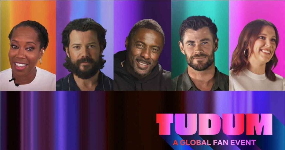il banner ufficiale del primo tudum mostra alcuni attori ospiti dell'evento - nerdface