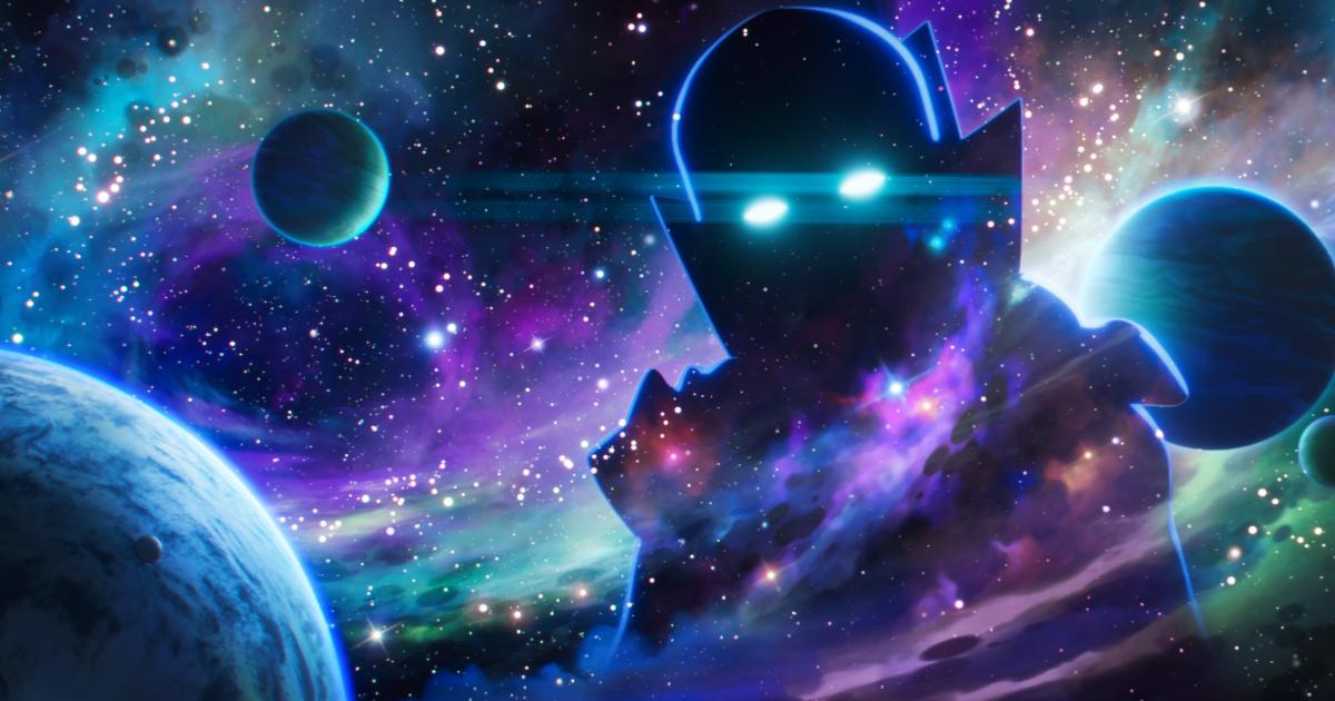 il watcher è nello spazio e osserva i pianeti - nerdface