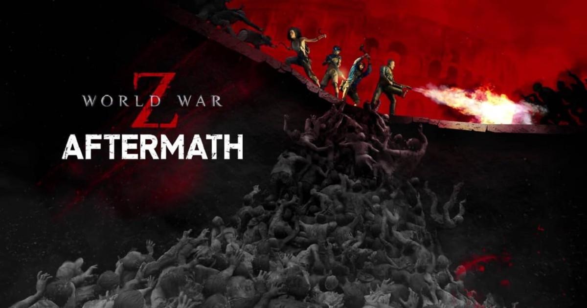 il banner ufficiale di guerra per il world war z aftermath - nerdface