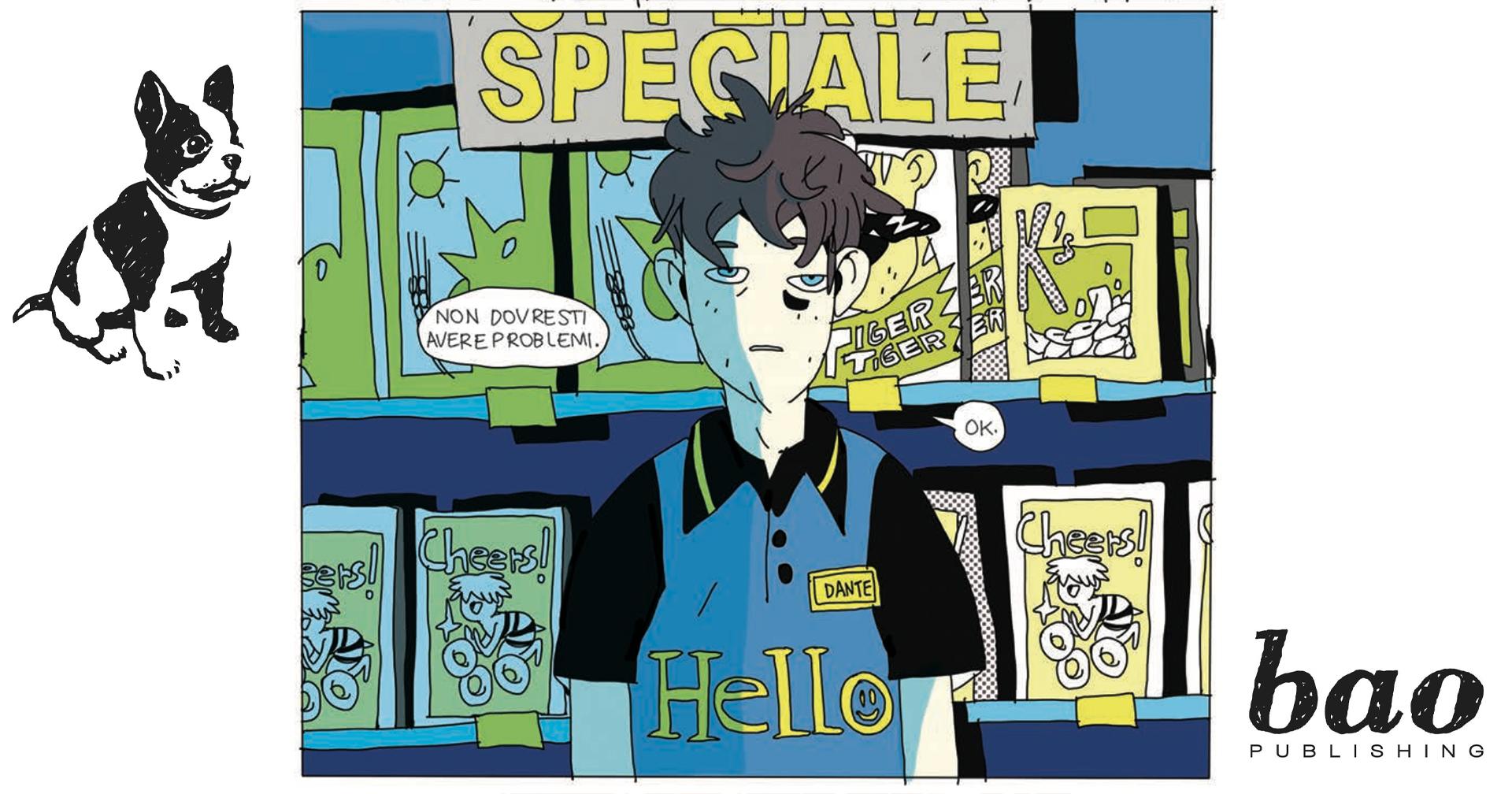 Il protagonista di 24/7 lavora al suo negozio