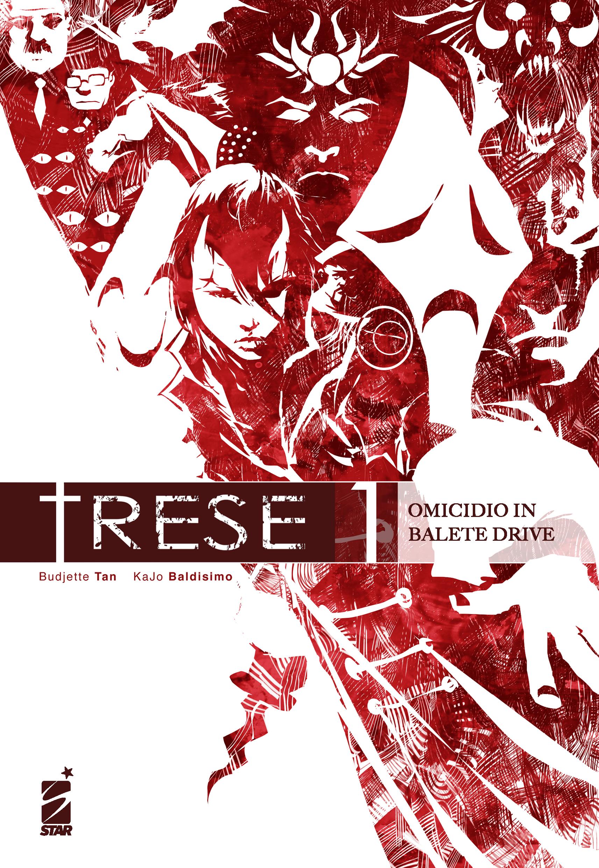La cover del primo volume di Trese