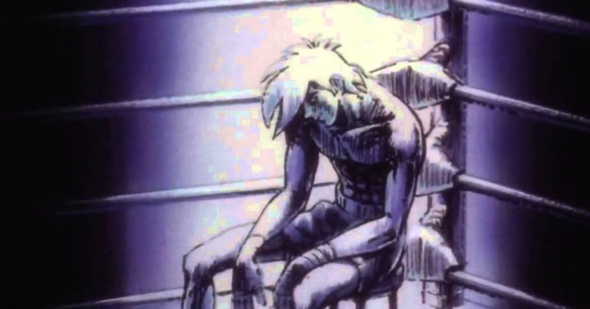 rocky joe muore sorridendo all'angolo del ring - nerdface