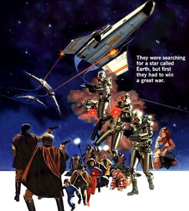 il poster originale di galactica