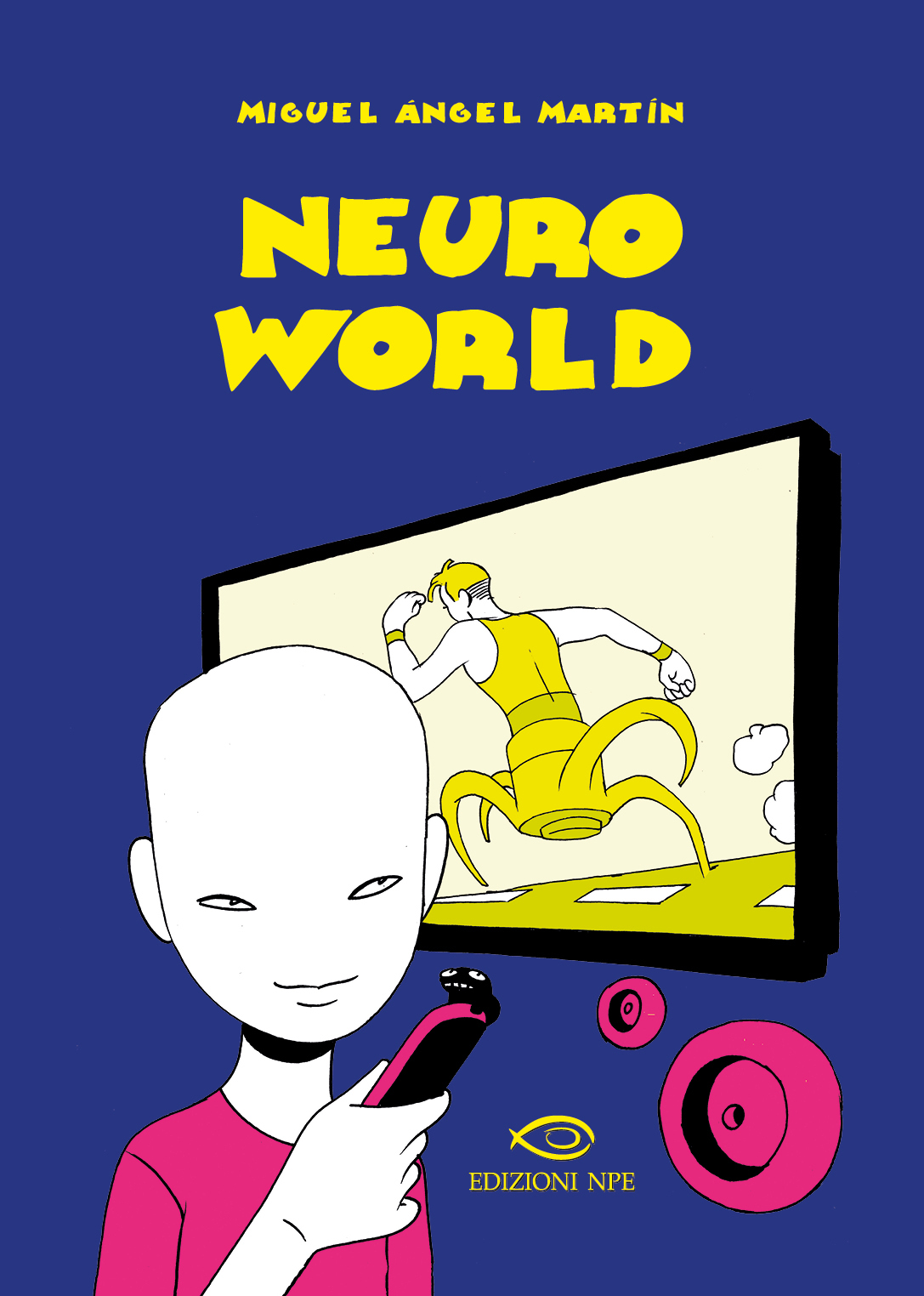 la cover di neuroworld - nerdface