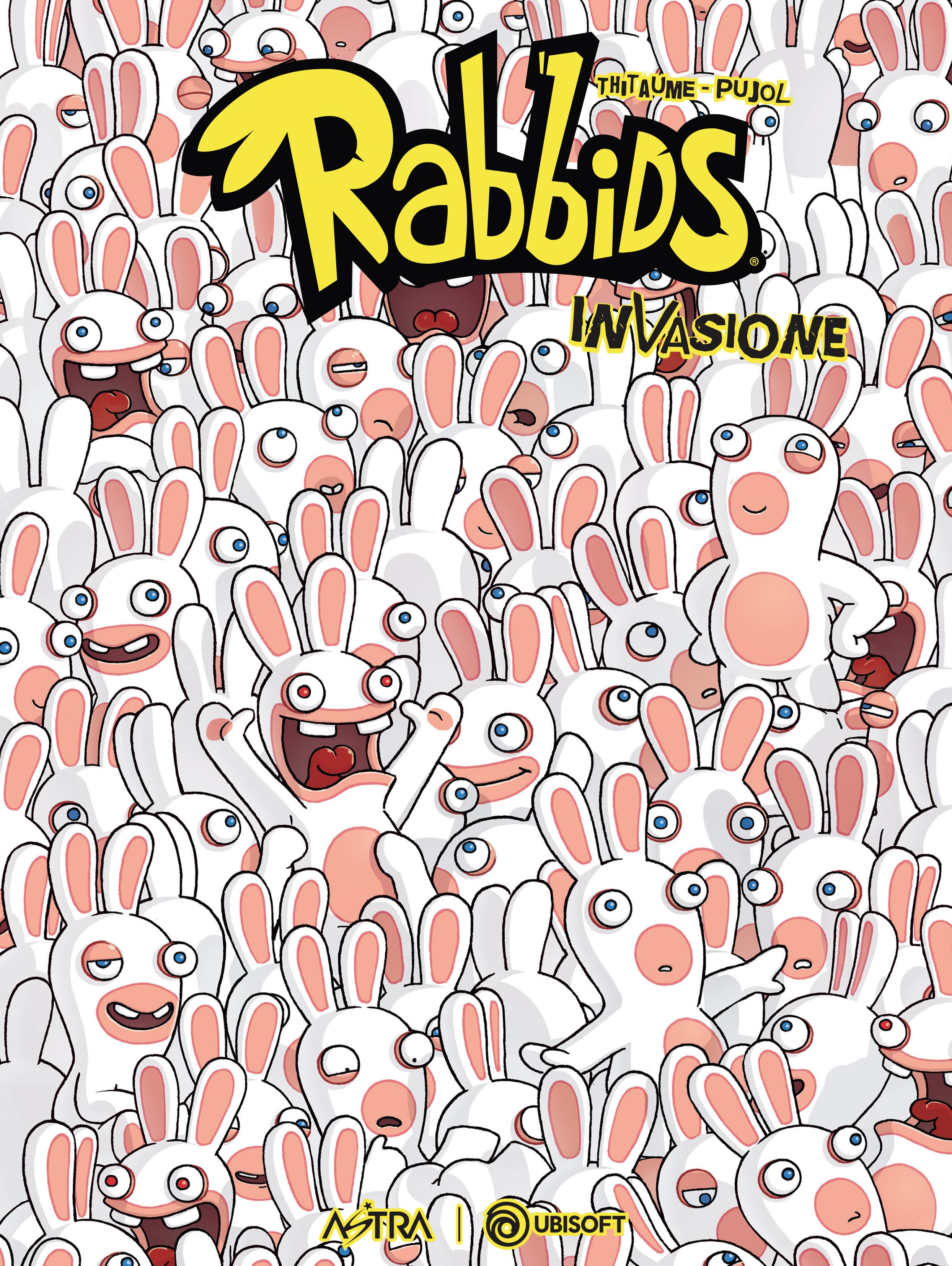 la cover del secondo volume di rabbids - nerdface